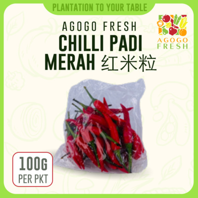 21 Chilli Padi Merah 红米粒 (100g)