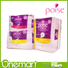 [POISE] Pantyliner ★ ODOUR REDUCING AND SOFT DRY TOUCH ★ 16.5cm 16s/19cm 16s Long/16.5cm 30s