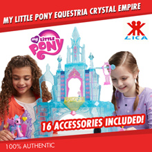 My Little Pony Equestria Crystal Empire - Local Seller / Fast Delivery (FURTHER DISC W QOO10 COUPON)