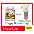 Happy Grains 快乐谷粮 1.2Kg Australia Formula (FREE SHAKER)// use coupon further discount
