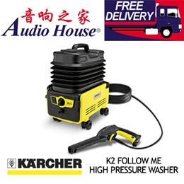 KARCHER K2 FOLLOW ME HIGH PRESSURE WASHER / LOCAL WARRANTY