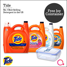 [PnG] FREE JOY CONTAINER Tide 4.43L- No.1 Best Selling Detergent in the U.S