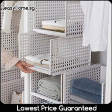 Modular Retractable Drawer Shelf / Design Your Own Space Saving Storage Rack