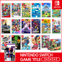 [Ready Stock!!] ★1+1+1+1  Nintendo Switch Game Title BEST GAMES Collection★