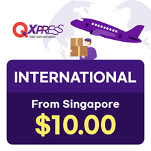 Qdelivery Service Voucher [Value S$ 10] for Global Delivery ( from Singapore )