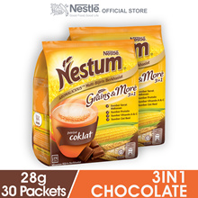 NESTLE NESTUM Grains  More 3in1 Chocolate 15 Sticks  2 Packs