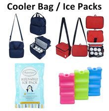 Autumnz Cooler Bag Ice Pack Double Compartment Breastpump Bag for Medela Spectra Ameda Avent