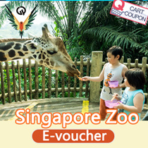 [Opening PROMO]Singapore Zoo (Tram Ride included) one day e ticket pass