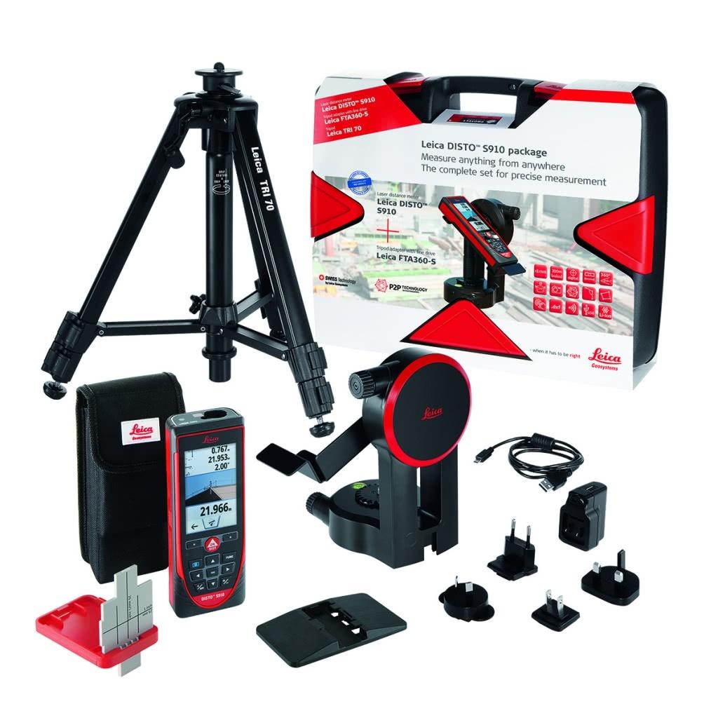 qoo10 - leica laser-abstandsmesser disto s910 set mit box : mobile