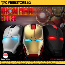 Iron Man Mouse Wireless Mouse Computer Gaming Mouse Keyboard Mousepad Marvel Iron Man Avengers