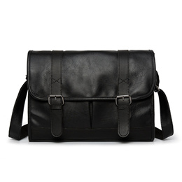 Shoulder Messenger Bag For Men Genuine Cow Leather Small Casual Chest