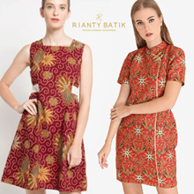 👗 Rianty Batik - 65% Off - Batik Women Dress 👗