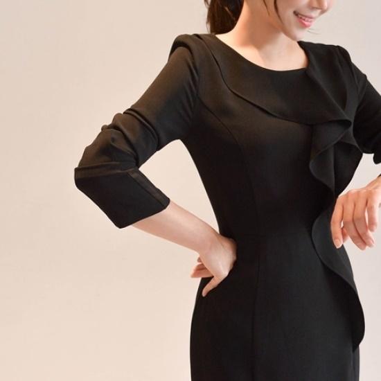 悪女日記】ボーエンワンピース 綿ワンピース/ 韓国ファッション