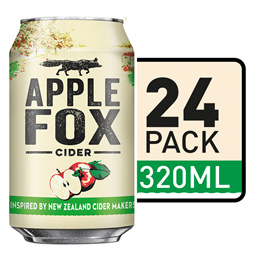 Apple Fox Apple Cider Cans 24 Cans x 320ml