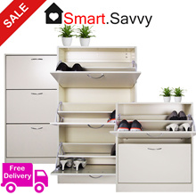Shoe Cabinet/Storage Shoe Rack/Shelf Furniture in Living Room/Kitchen | ASSEMBLED