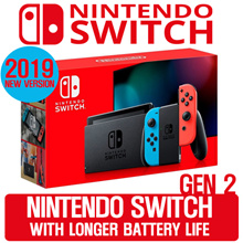 任天堂 Switch 2代 灰/紅藍主機(電池加強版)