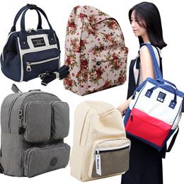花柄スタイリッシュリュック/愛らしいバッグ/レディース/ファッションかばん/リュック/バックパック/かばん/かわいいかばん/キャンバスバッグ