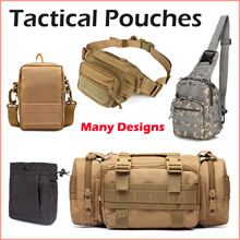 Waist Pouch / Chest Bag ◆ Tactical Sling Bags / Multi-purpose Military Versatile Backpack and Belt