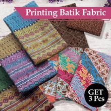 Buy 2 Pcs Batik Printing Get 1 More Batik Sogan - High Quality - Pekalongan Batik