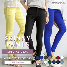 TOKICHOI - Special Deal! Basic Skinny Pants Multi Colors/Styles/Women/Girl Clothing-Free Shipping