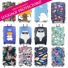Travel Luggage Covers Protectors* Great Designs* High Quality Elastic* Ready Stock in SG