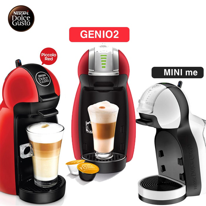 Qoo10 - [NESCAFE]Dolce Gusto Piccolo/MINI me/GENIO2/capsule coffee  machine/PIC... : Small Appliances