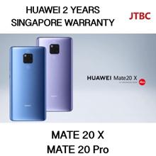 HUAWEI MATE 20 PRO / MATE 20 X | LOCAL SET 2 YEARS WARRANTY | 128GB with 6GB RAM | GROUPBUY