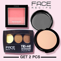 [CLEARANCE SALE] Face Recipe Make-Up Collection - Buy 1 Get 1 Free