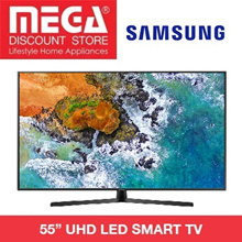 SAMSUNG UA55NU7400 55INCH UHD SMART LED TV / NO FREE GIFT / LOCAL WARRANTY