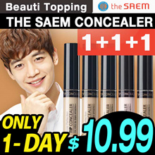 CRAZY PRICE★1+1+1★THE SAEM★Cover Perfection Tip Concealer(5color)[Beauti Topping]