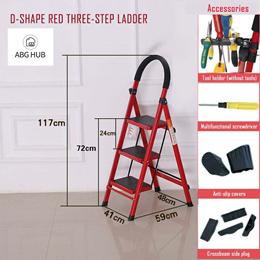 [ABG-HUB] Ladder / Anti-slip resistance foot pad and large platform to hold items