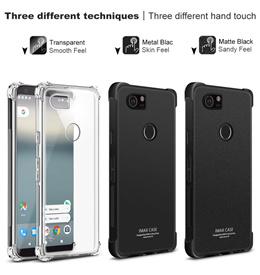 [SG] All Google Pixel Phone Case Temperd Glass 3 2 XL Cases Imak Transparent