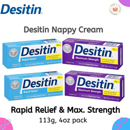 CHEAPEST TWIN PACKS on Qoo10!! Diaper Rash Creamy/Original Paste 113g MAXIMUM STRENGTH / RAPID RELIE