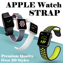 💋💋Hot stuff💋💋For Apple Watch Band Strap Genuine Cowhide Leather Single+Double Loop+Bracelet