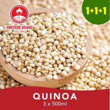 1+1+1 Special Deal Quinoa/ Red Quinoa 500gm+500gm+500gm=1.5kg Offer! Gluten Free