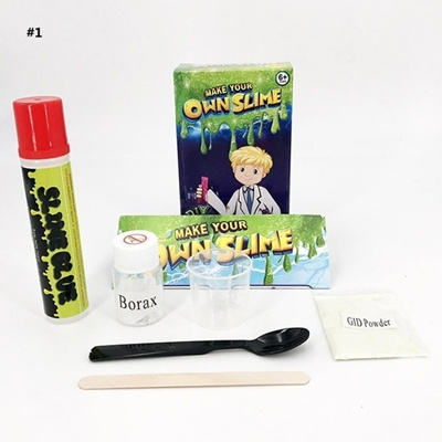 Slime Making Kit Make Your Own Stretchy Fun Science Educational Kids Toy