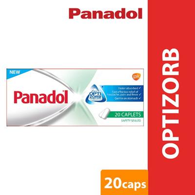 Panadol with Optizorb Pain relief Fever Headache