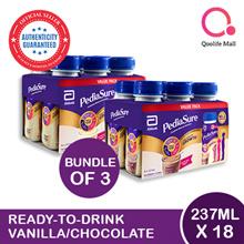 [Abbott]【Bundle of 4】PediaSure Ready-to-Drink - Vanilla/ Chocolate 6 x 237ml   For Singapore market