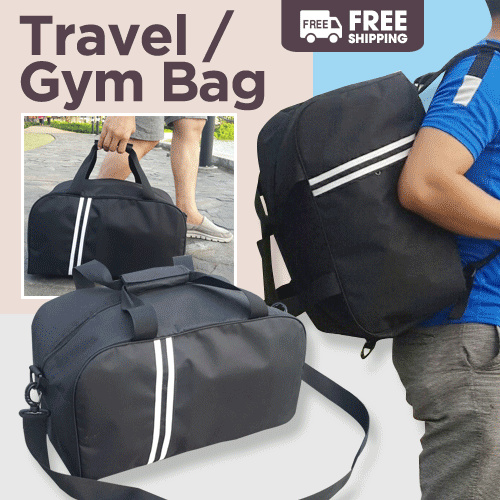 TRAVEL / GYM BAG 3 IN 1 BACKPACK Deals for only Rp89.000 instead of Rp89.000
