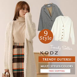 KODZ - Super Sale! Trendy Long Sleeve Blouses Tops/Women/Ladies Multi Color/Style - Free Shipping