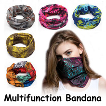 Sports Bandana Outdoor Scarf ◇ Multifunction for Running Cycling Scooter Riding 【SG Fast Delivery】