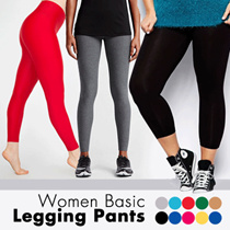 #WHOLESALE PRICE # Long Spandex Legging Pants / Good Quality / All Size and Jumbo
