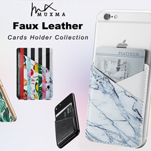 2018 New Arrivals ❤❤❤ CNY Gifts ❤ Faux Leather Cards Holder Suit for any Smart Phone