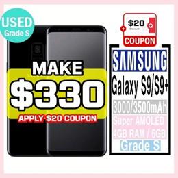 [Samsung] Galaxy S9 / S9+ Plus / Grade S / Used Phone