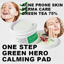 Cosrx One Step Green Hero Calming Pad 70ea Facial acne skin care