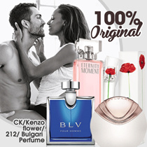 Calvin Klein/ Kenzo/ Bvlgari/ Carolina Herera ~ Perfume Original (Various Fragrance) For Men-Woman