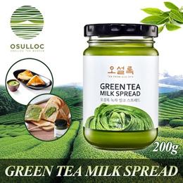 OSULLOC Green Tea Almond Milk Spread nature JAM strawberry grape apple earl grey espresso