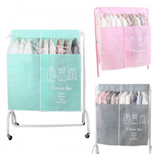 New Clothes Dust Cover Dry Cleaner Dust Bag Household Items Visible Storage Bag