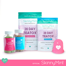 [SkinnyMint Official] Anti-Cellulite Detox Bundle (Teatox +Gummies)