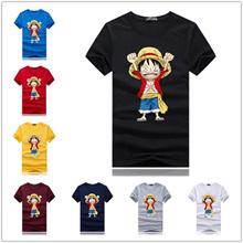 T-shirt One Piece T-shirt Cosplay Monkey D Luffy Tony Tony Chopper Donquixote Doflamingo